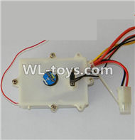 Double Horse DH 7001 RC boat parts ,Shuang Ma 7001 parts-18 Receiver circuit board box