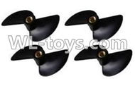 Double Horse DH 7001 RC boat parts ,Shuang Ma 7001 parts-23 Rotor blade(4pcs)