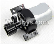 Double Horse 7011 RC boat parts ,Shuang Ma dh 7011 parts-09 Main motor with Drive shaft connections and fixtures