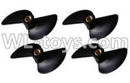 Double Horse 7011 RC boat parts ,Shuang Ma dh 7011 parts-15 Rotor blade(4pcs)