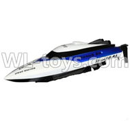 Double Horse 7011 RC boat parts ,Shuang Ma dh 7011 parts-24 Only Whole boat-White(Not include the charger and Transmitter)
