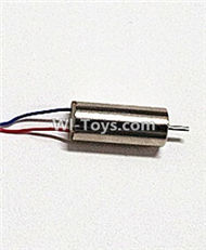 Fayee-FY550-parts-09 rotating Motor with red and Blue wire(1pcs-Not include gear),FAYEE FY550 RC Quadcopter Drone Spare Parts Accessories,FY550 RC Drone Replacement parts