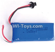 BOLON K-896 Parts-37 Official 7.4V 1200mAh battery with SM Plug-1pcs,BOLON K-896 RC Quadcopter Drone Spare Parts Accessories,BOLON TOYS K896 Replacement Parts