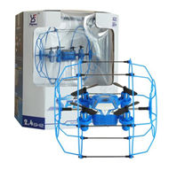 Fayee FY802 3 IN 1 Climbing & Walking RC Quadcopter Running Climbing Mini Drone-Blue