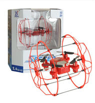 Fayee FY802 3 IN 1 Climbing & Walking RC Quadcopter Running Climbing Mini Drone-Red