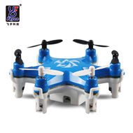 Fayee FY805 Pocket Drone Hexacopter,4CH 6 Axis Gyro Headless Mode Quadcopter Helicopter-Blue