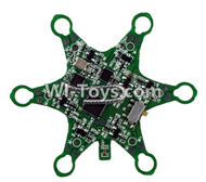 Fayee FY805 Parts-20 Circuit board,Receiver board,Fayee FY805 RC Hexacopter Drone Spare Parts,FY805 Quadcopter Replacement Accessories
