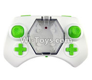 Fayee FY805 Parts-23 Transmitter,Remote control-Green,Fayee FY805 RC Hexacopter Drone Spare Parts,FY805 Quadcopter Replacement Accessories