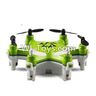 Fayee FY805 Parts-26 BNF-Green(Only Hexacopter,No transmitter,No USB charger,Include the Battery,Fayee FY805 RC Hexacopter Drone Spare Parts,FY805 Quadcopter Replacement Accessories
