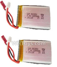 HuaJun W606-2 Parts-32 Official 7.4V 1200MAH Battery(2pcs),HuaJun Toys W606-2 RC Quadcopter Drone Spare Parts,HJ Toys W606-2 Accessoriess Replacement