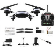 HuaJun Toys HJ825 Quadcopter(Iclude the 2,000,000 Pixels Camera unit and Wifi image transmission Function,Phone clip)