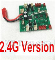 HuaJun HJ825 Parts-38 Circuit Board,Receiver board(Can only be used for 2.4G Version),HuaJun Toys HJ825 RC Quadcopter Drone Spare Parts,HJ Toys HJ825 Accessoriess Replacement