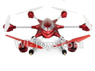 HuaJun Toys HJ816 HJ817 RC Hexacopter Drone-Standard configuration(Not include the Camera unit,Not include the FPV image transmission device)