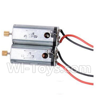 YiZhan X6 Parts-12 Main motor with Red and Black wire(2pcs) For YiZhan X6 RC Quadcopter,Drone Spare parts