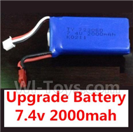 YiZhan X6 Parts-17 Upgrade 7.4v 2000mah battery For YiZhan X6 RC Quadcopter,Drone Spare parts