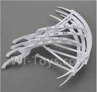 YiZhan X6 Parts-23 Outer protect frame(4pcs)-White For YiZhan X6 RC Quadcopter,Drone Spare parts