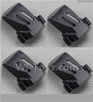 YiZhan X6 Parts-25 Motor cover(4pcs)-Black For YiZhan X6 RC Quadcopter,Drone Spare parts
