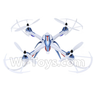 YiZhan X6 Parts-41 BNF-Blue(Only the Whole Quadcopter,No battery,No charger,No Transmitter)-White & Blue For YiZhan X6 RC Quadcopter,Drone Spare parts