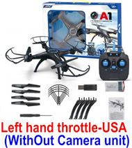 BoMing M39G RC Quadcopter(Standard configuration,With out Camera unit,Left hand throttle,USA hand control)