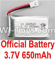 BoMing M39G Spare Parts-10-01 Official 3.7V 650mAh Battery(1pcs)-45X25X8mm,Bo Ming BoMing M39G RC Quadcopter Drone Spare Parts Replacement Accessories M39