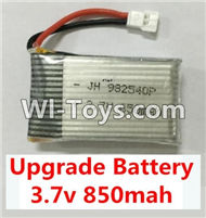 BoMing M39G Spare Parts-10-02 Upgrade 3.7v 850mah battery(1pcs)-42X25X9mm,Bo Ming BoMing M39G RC Quadcopter Drone Spare Parts Replacement Accessories M39