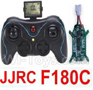 JJRC F180C Parts-36 Transmitter & Circuit board(Can only be used for F180C) For JJRC F180C RC Quadcopter parts,RC Drone parts