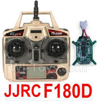 JJRC F180D Parts-39 Transmitter & Circuit board(Can only be used for F180D) For JJRC F180D RC Quadcopter parts,RC Drone parts