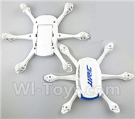 JJRC H21 Parts-02 Upper and bottom shell cover(White) For JJRC H21 H21 Quadcotper parts,H21 Drone Spare parts,2.4V UFO