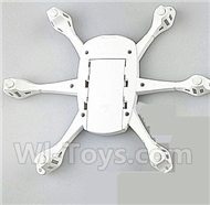 JJRC H21 Parts-05 bottom shell cover(White) For JJRC H21 H21 Quadcotper parts,H21 Drone Spare parts,2.4V UFO
