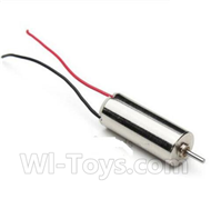 JJRC H21 Parts-12 Rotating Motor with red and blue wire(1pcs) For JJRC H21 H21 Quadcotper parts,H21 Drone Spare parts,2.4V UFO
