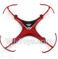JJRC H22 Parts-02 Upper shell cover,Upper canopy-Red For JJRC H22 H22C Quadcopter Spare parts,RC drone Parts,2.4G UFO Parts