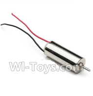 JJRC H22 Parts-20 Rotating Motor with red and blue wire(1pcs) For JJRC H22 H22C Quadcopter Spare parts,RC drone Parts,2.4G UFO Parts