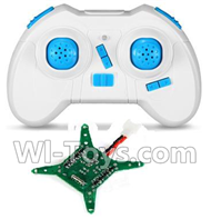 JJRC H22 Parts-23 Transmitter & Circuit board For JJRC H22 H22C Quadcopter Spare parts,RC drone Parts,2.4G UFO Parts