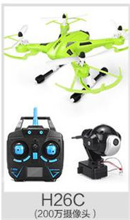 JJRC H26C Quadcopter(Include the HD 2,000,000 Pixels Camera unit,Two color you can choose)
