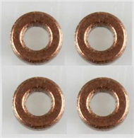 JJRC H26 H26C H26W Parts-21 Copper Sleev,Copper Ring(4pcs) For JJRC H26 H26C H26D H26W Quadcopter Spare parts,RC drone Parts,2.4G UFO Parts