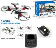 JJRC H29W Quadcopter (Include the HD Wide 2,000,000 Pixels Camera unit,Also have wifi fuction and LCD screen on your Transmitter,you can view the image on your LCD Screen of your Transmitter,Two color Random to sent it out ) For JJRC H29 H29C H29W Quadcop