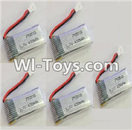 JJRC H29 H29C H29W H29G Parts-17 Official 3.7v 450mah Battery(5pcs) For JJRC H29 H29C H29W Quadcopter Spare parts,RC drone Parts,2.4G UFO Parts