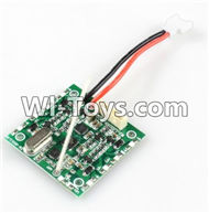 JJRC H29 H29C H29W H29G Parts-28 Circuit board,Receiver board For JJRC H29 H29C H29W Quadcopter Spare parts,RC drone Parts,2.4G UFO Parts