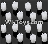JJRC H29 H29C H29W H29G Parts-42 Small motor gear(16pcs) For JJRC H29 H29C H29W Quadcopter Spare parts,RC drone Parts,2.4G UFO Parts