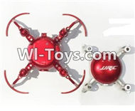 JJRC H30 H30C H30W Parts-01 Upper and bottom shell body cover-Red For JJRC H30 H30C H30W Quadcopter Spare parts,H30 H30C H30W RC drone Parts,2.4G UFO Spare Parts