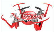 JJRC H30 H30C H30W Parts-34 BNF-Red(Only the Quadcopter,Include the Camera unit,Not include the Battery,The transmitter,The charger) For JJRC H30 H30C H30W Quadcopter Spare parts,H30 H30C H30W RC drone Parts,2.4G UFO Spare Parts