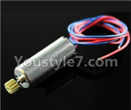 JJRC H8C H8D Parts-17 rotating Motor with red and Blue wire For JJRC H8C H8D Quadcopter Parts,Drone parts,Camera spare parts