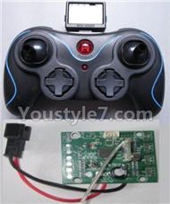 JJRC H8C H8D Parts-18 Transmitter & Circuit board For JJRC H8C H8D Quadcopter Parts,Drone parts,Camera spare parts