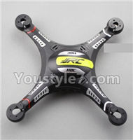 JJRC H8C H8D Parts-26 Upper and bottom shell cover,Canopy-Black For JJRC H8C H8D Quadcopter Parts,Drone parts,Camera spare parts