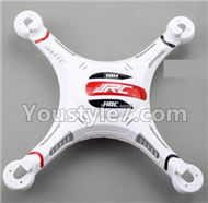 JJRC H8C H8D Parts-27 Upper and bottom shell cover,Canopy-Version 2(White) For JJRC H8C H8D Quadcopter Parts,Drone parts,Camera spare parts
