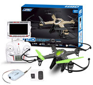 JJRC H9W Quadcopter(Include the HD 2,000,000 Pixels Camera unit,Also include the FPV Real-time image transmission aerial HD Camera unit and LCD Screen,Two color you can choose) For JJRC H9 H9D H9W Quadcopter Spare parts,RC drone Parts,2.4G UFO Parts