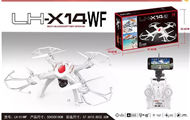 Lead Honor LH-X14WF RC Quadcopter Drone-Option 3(Include the 2,000,000 Pixels camera,and Mobile phone holder,Also include the wifi function