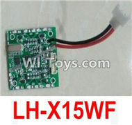 Lead Honor LH-X15 X15C X15WF Spare Parts-37 Circuit board,Receiver board(Can only be used for LH-X15WF),Lead Honor LH-X15 X15C X15DV X15WF RC Quadcopter Drone Spare Parts Accessories,LH-X15 Replacement parts