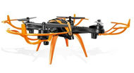 Lead Honor LH-X15 RC Quadcopter-Option 1 (Not include the Camera unit)-Black