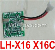 Lead Honor LH-X16 X16C X16WF X16DV Spare Parts-38 Circuit board,Receiver board(Can only be used for LH-X16 X16C),Lead Honor LH-X16 X16C X16DV X16WF RC Quadcopter Drone Spare Parts Accessories,LH-X16 Replacement parts